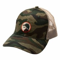 Duckhead Circle Patch Camo Trucker Hat