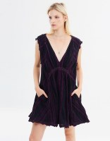 Free People Cactus Flower Mini Dress