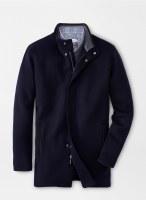 Peter Millar Crown Flex-Fleece City Coat