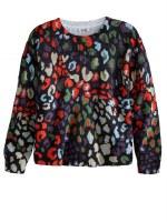 525 Amercia Leo Print Sweater