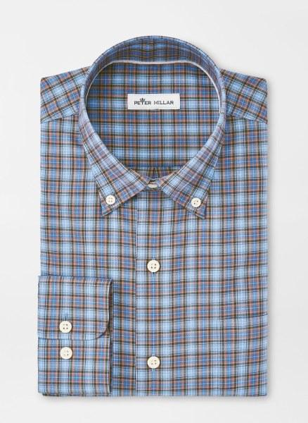 Peter Millar Crown Ease Drake Sports Shirt