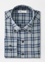 Peter Millar Emmett Performance Flannel Sport Shirt