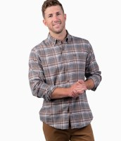Southern Shirt Co. Basin Boulder Heather Flannel