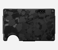 The Ridge Wallet Forged Carbon