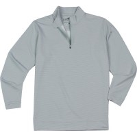 GenTeal Charcoal Pinstrip Performance Quarter Zip