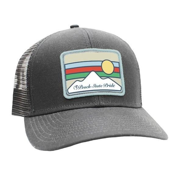 Peach State Pride Horizon Mesh Back Trucker Hat