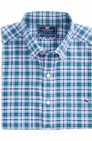 Vineyard Vines Llacker Plaid Performance Slim Tucker Shirt