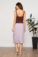 Lucy Paris Katelyn Polka Dot Skirt