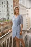Lucy Paris Lennox Feather Dress