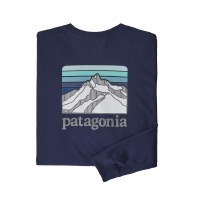 Patagonia Men's Long-Sleeved Line Logo Ridge Responsibili-Tee