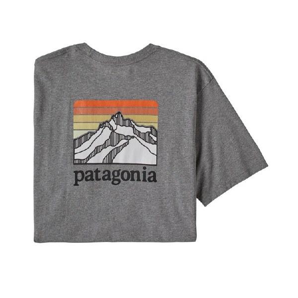 Patagonia Men's Line Logo Ridge Pocket Responsibili-Tee