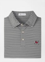 Peter Miller Georgia Mills Stripe UGA Performance Polo