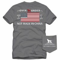 Over Under Not Made In China Tee