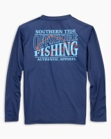 Southern Tide Kids Offshore Fishing Performance Long Sleeve T-Shirt