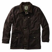 Over Under Waxed Briar Jacket Rich Brown