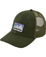 Patagonia Sticker Patch Lo Pro Trucker Hat