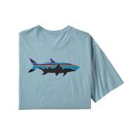 Patagonia Men's Fitz Roy Fish Organic Cotton T-Shirt