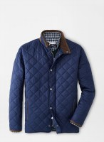 Peter Millar Suffolk Quilted Travel Coat