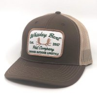 Whickey Bent Rack Brown Hat