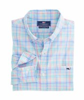 Vineyard Vines Rum Punch Plaid Slim Tucker
