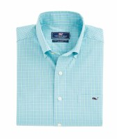 Vineyard Vines Hawes Pond Performance Flannel Classic Tucker Shirt