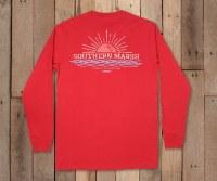 Southern Marsh Branding - Sunset LS Tee