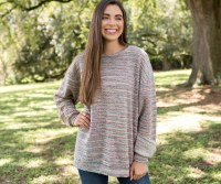 Southern Marsh Sunday Mornig Rainbow Sweater