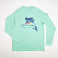 Southern Point Marlin Dry Fit UPF Tee