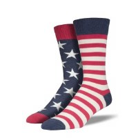 Sock Smith Flag Crew Socks