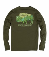 Southern Shirt Company Mountain Buffalo Long Sleeve Shirt