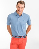 Southern Tide Heathered Driver Squall Grey