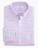 Southern Tide Fuskie Tattersall Intercoastal Sport Shirt