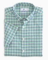 Southern Tide Triple Tattersall Intercoastal Short Sleeve Sport Shirt