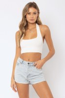 Amuse Society Velzy Halter Top