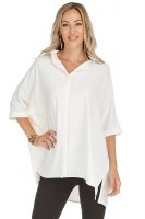 Jade Button Over Shirt