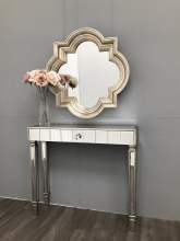 Hollywood Mirrored Tale Slim Silver Finish