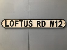 Loftus Road Street Sign