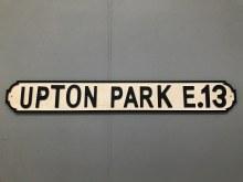 Upton Park Street Sign