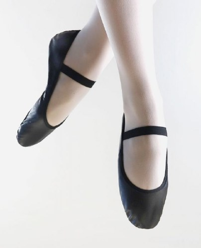So Danca Leather Full Sole Ballet shoe SD70