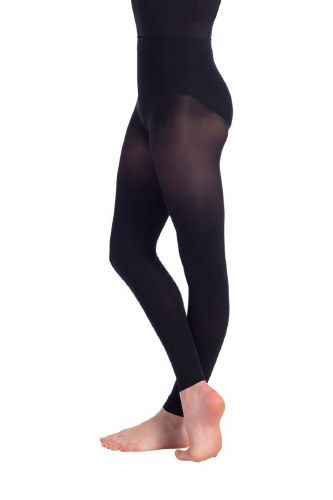 So Danca Adult Footless Tights Black TS70