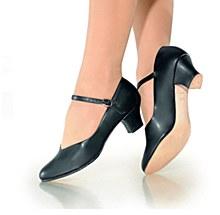 "So Danca 1.5"" Inch Character Shoe Black - CH50"
