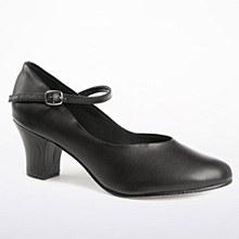 So Danca 2inch Chracter Shoe Black - CH52