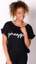 Pineapple Box Tee Black **50% OFF FOR A LIMITED TIME ONLY** WAS 45 NOW 22.50**