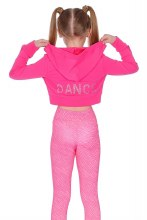Crop Diamante jacket Pink **50% OFF FOR A LIMITED TIME ONLY. WAS 48 NOW 24.00**