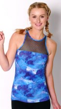 Mesh panel vest **50% OFF FOR A LIMITED TIME ONLY. WAS 35 NOW 17.50**