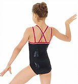 **SALE - WAS 45 NOW 15** Mondor X/Over Strap Leotard - 7892