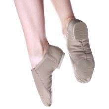 Split Sole Jazz Shoes Tan
