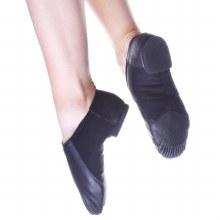 Split Sole Jazz Shoes Black