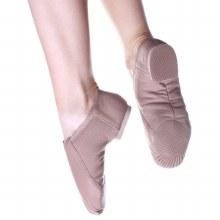 Split Sole Jazz Shoes Caramel