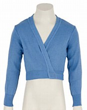 **SALE - WAS 20 NOW 10** Longsleeve Crossover Cardi Sky Blue